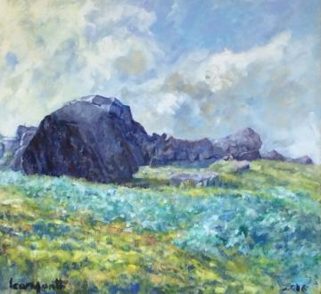 Cow and Calf Rocks - Summer