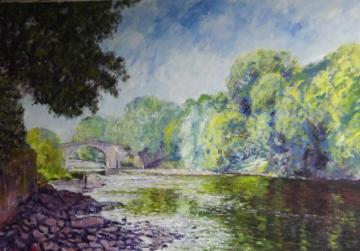 River Wharfe at Ilkley - Greg Learmonth